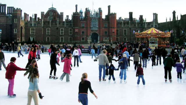 Xmas in London - Things to do in london - Hampton Court Palace 6