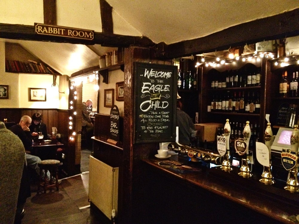 Eagle & Child interior