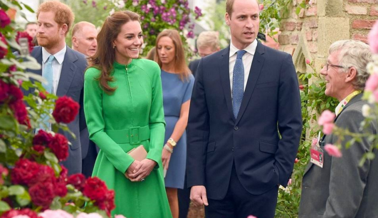 "Знаменитости: Кейт, Уильям и Королева посетили ""Chelsea Flower Show"""
