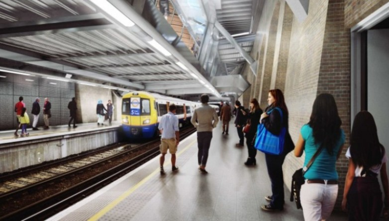 06 whitechapel station - proposed station concourse over existing london overground platforms_235988