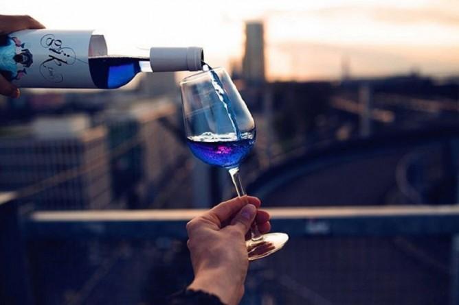 голубое вино