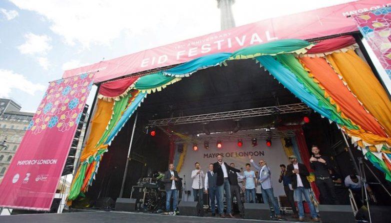 Досуг: Фестиваль в честь окончания Рамадана на Трафальгарской площади: вход бесплатный