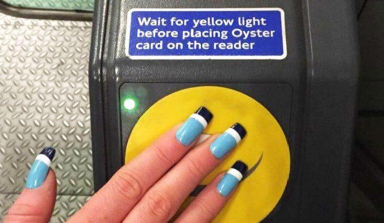 Технологии: Акриловые ногти вместо метро-кард