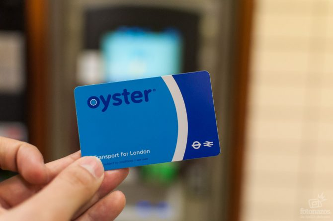 карта Oyster