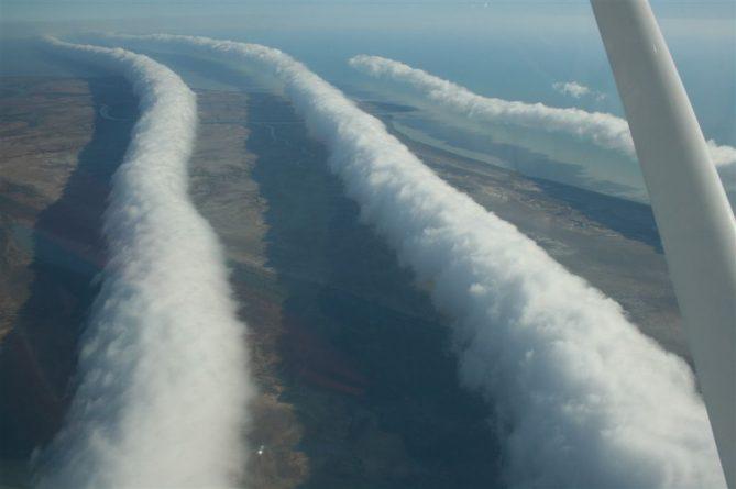 В мире: Австралийцы смогут увидеть необыкновенные сюрреалистичные облака