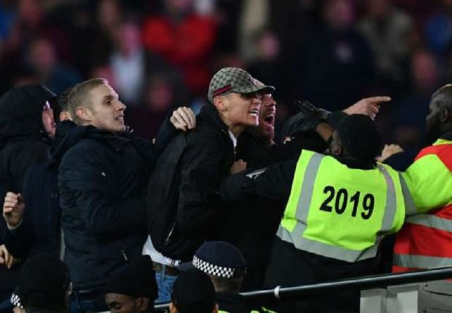 Происшествия: Футбольные фанаты устроили драку на London Stadium