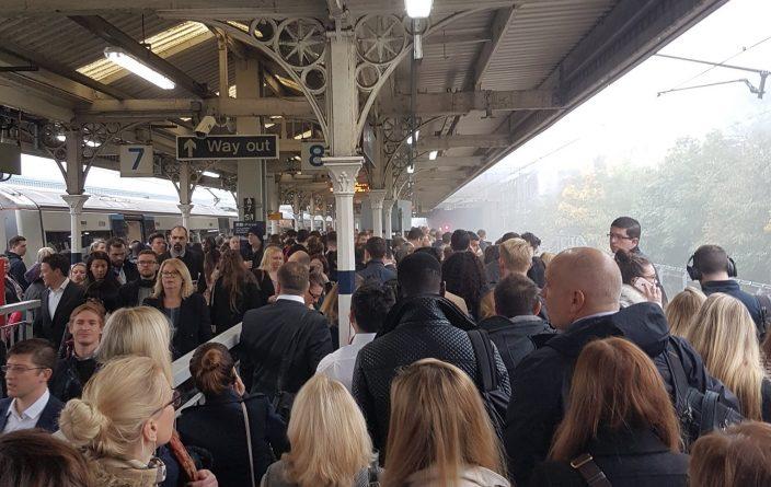 Происшествия: В работе поездов c2c наблюдались задержки из-за тумана