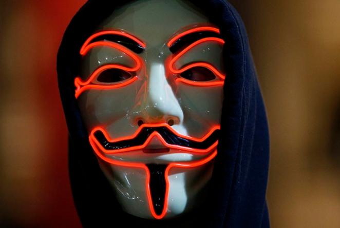 """Технологии: """"Анонимусы"""" могут стоять за сбоями в работе сайта Скотланд-Ярда"""