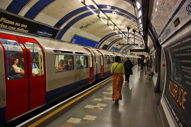 Происшествия: Пожар в лондонском метро