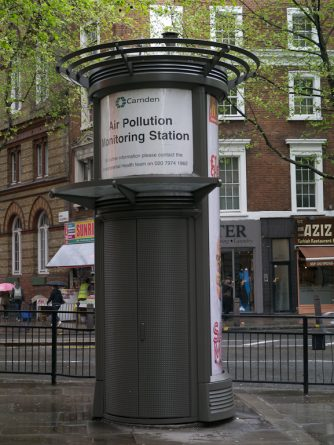 Общество: В Лондоне появятся оповещения о загрязнении воздухе