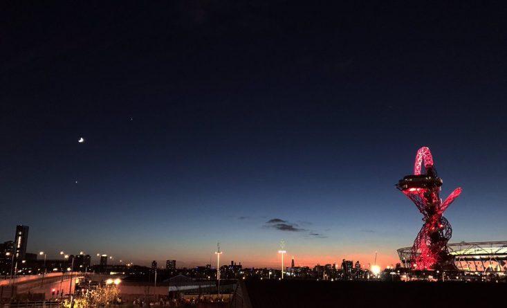 Погода: В небе над Лондоном видна Венера