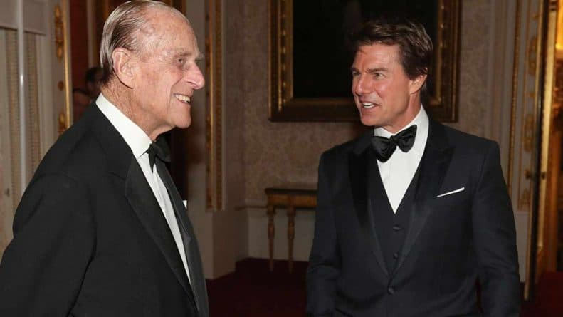 Prince Philip/ Tom Cruise