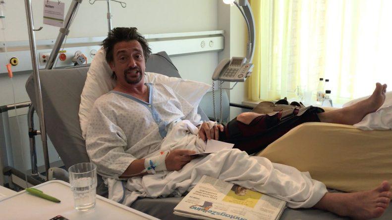 Знаменитости: Выход второго сезона The Grand Tour отложат из-за травмы ведущего