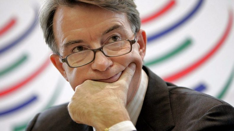 Peter, Mandelson, WTO