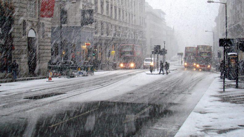 Погода: Метеорологическое бюро объявило желтый уровень опасности в связи с гололедицей