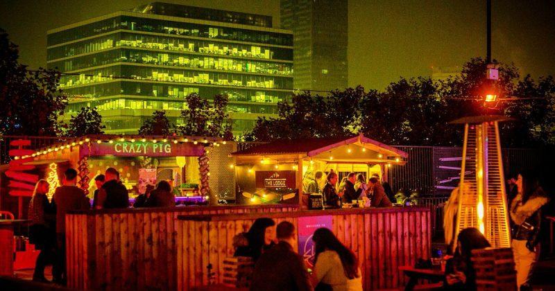 Досуг: Лучшие зимние бары на крышах Лондона | Часть II