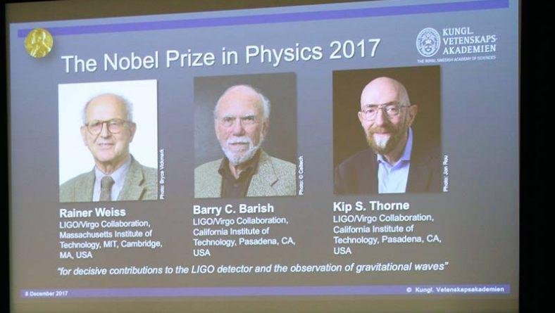 В мире: Церемония вручения Нобелевской премии 2017 года состоится в воскресенье в Стокгольме