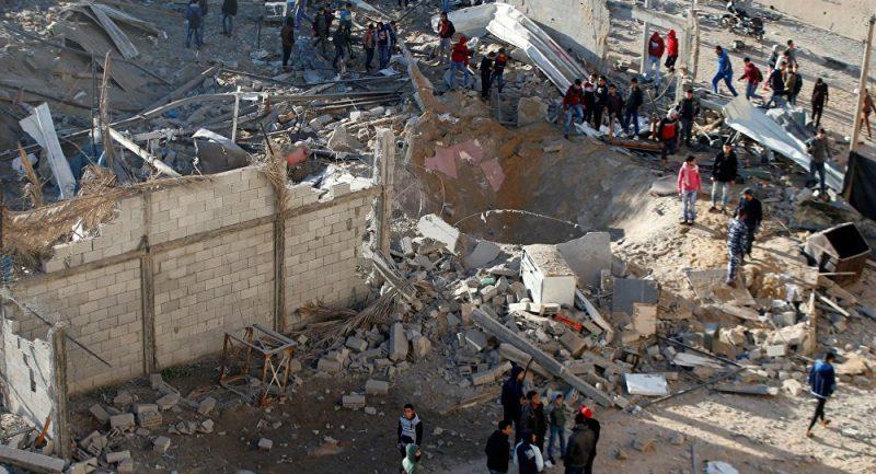 Политика: Израиль обстрелял районы Газа в ответ на ракетные атаки