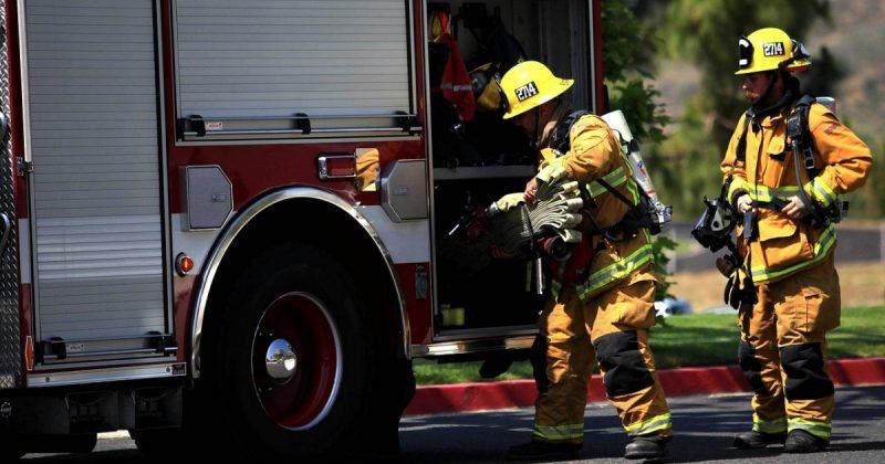 Происшествия: Пожар в Солфорде: шестеро пострадавших