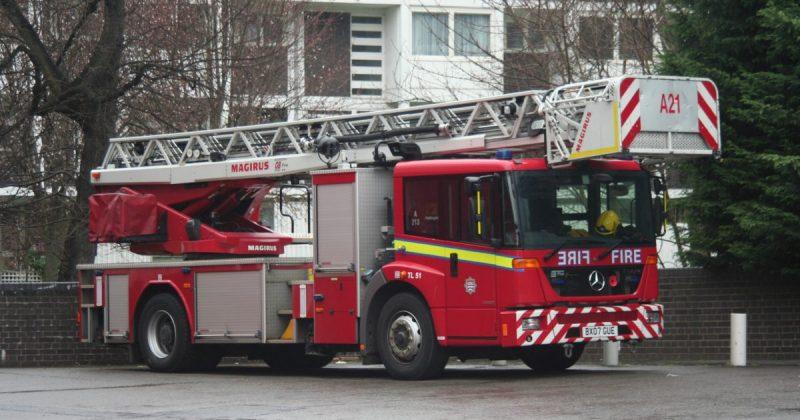 Происшествия: Пожар в университете Бристоля