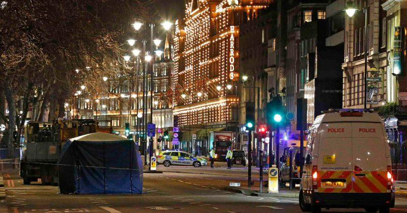 Происшествия: Авария в Найтсбридже: грузовик сбил пенсионерку на глазах у покупателей Harrods