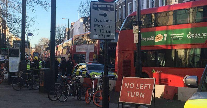 Происшествия: В районе Kings Cross перекрыты дороги из-за подозрительного пакета