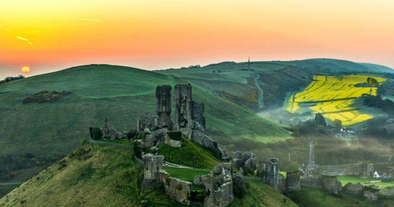 Путешествия: Самые красивые места Британии: замок Корф