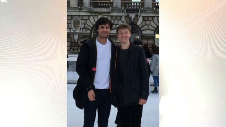 Gay couple left Leicester