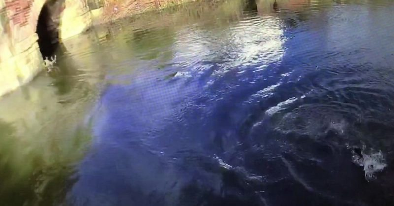dived in River Irwell
