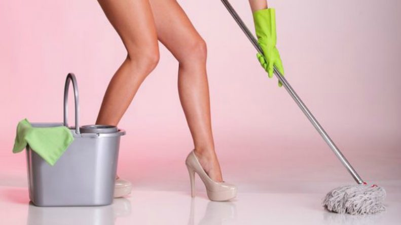 legs-and-hand-mop-cleaner-girl-Woman-housewife