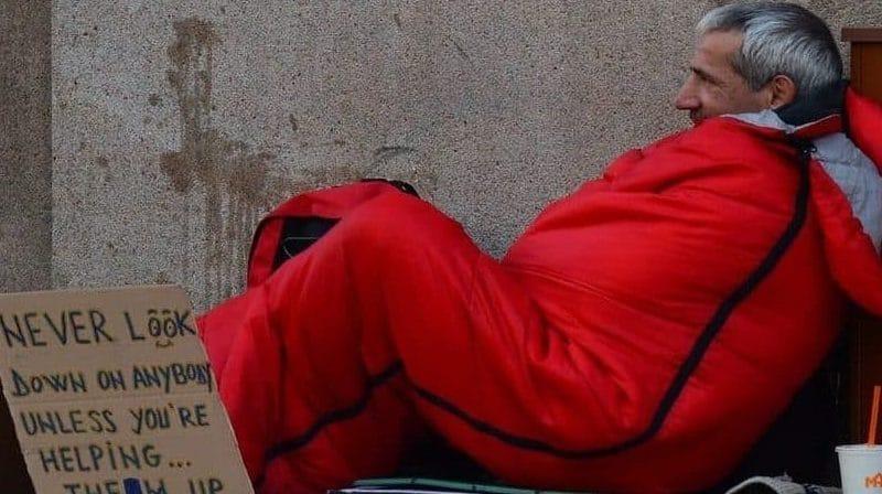 Бездомные в Уорикшире