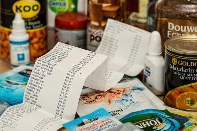 чек за продукты