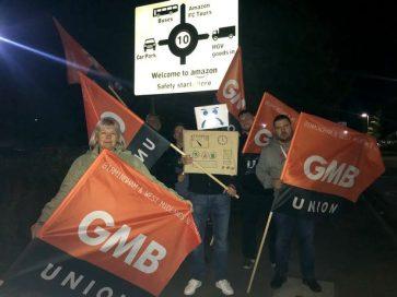 протест Amazon