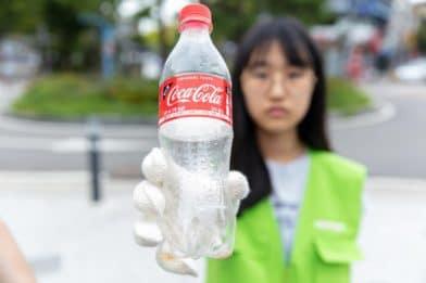 бутылка из-под кока-колы