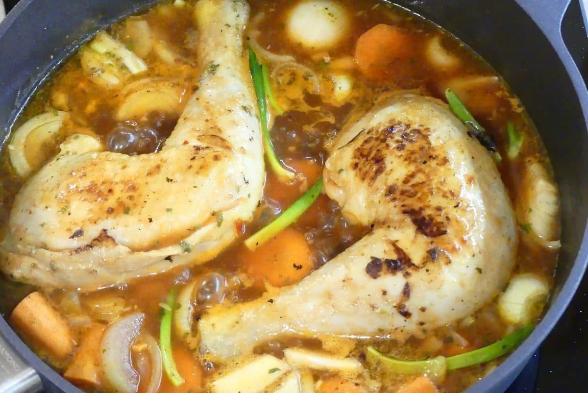 первое блюдо с курицей