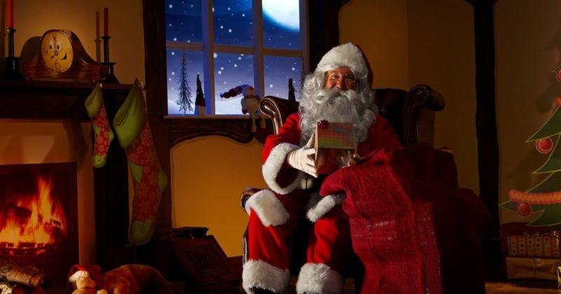 Досуг: 7 мест в Лондоне, где дети могут увидеть и пообщаться с Санта Клаусом