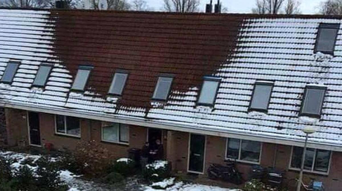 Если у вашего соседа растаял снег на крыше, вы должны вызвать полицию, и вот почему