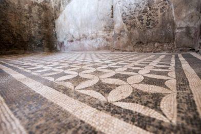 мозаика в Помпеях