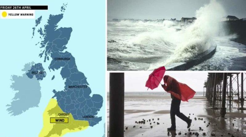 Погода: Великобритания и Ирландия готовятся к удару шторма Ханна