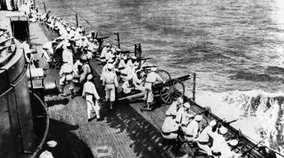 Американский флот атакует Веракрус