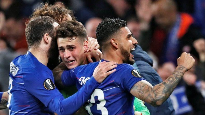 Общество: Хет-трик Обамеянга, 10-й гол Йовича и два сейва Кепы в серии пенальти: как «Арсенал» и «Челси» вышли в финал Лиги Европы
