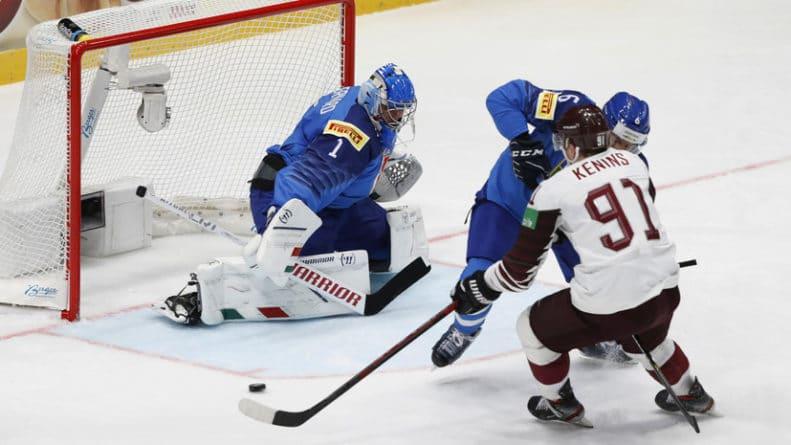 Общество: Сборная Латвии обыграла команду Италии на ЧМ-2019 по хоккею