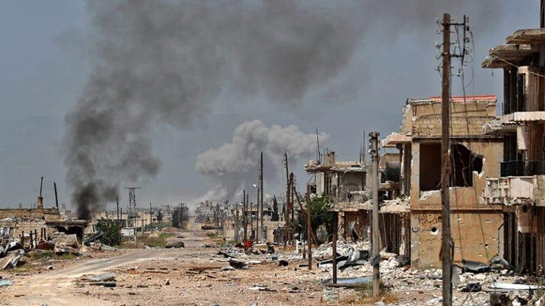 Общество: «Прикрытие попыток расшатать обстановку»: в Минобороны РФ назвали ложью заявления США о химатаке в Сирии