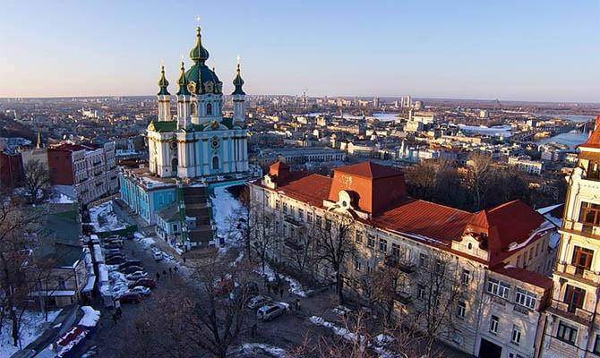 Общество: Британская газета похвалила Андреевскую церковь в Киеве | Политнавигатор