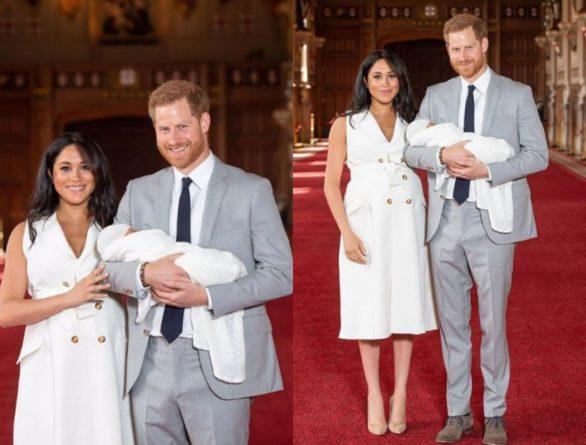Знаменитости: Озвучено имя сына Меган Маркл и принца Гарри
