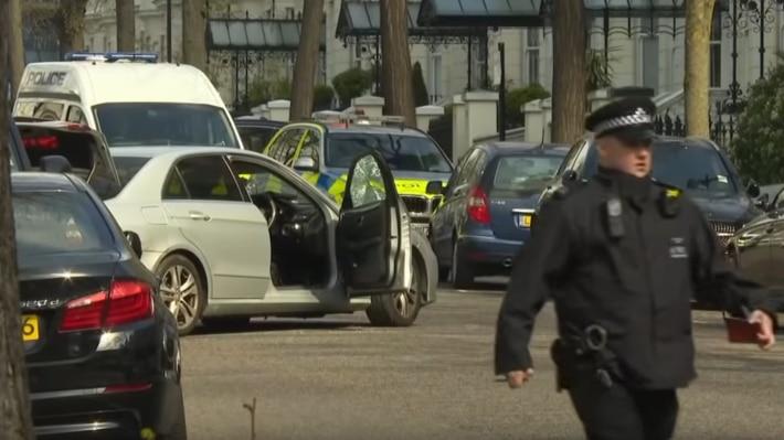 Общество: Найденный предмет в правительственном квартале Лондона оказался неопасным