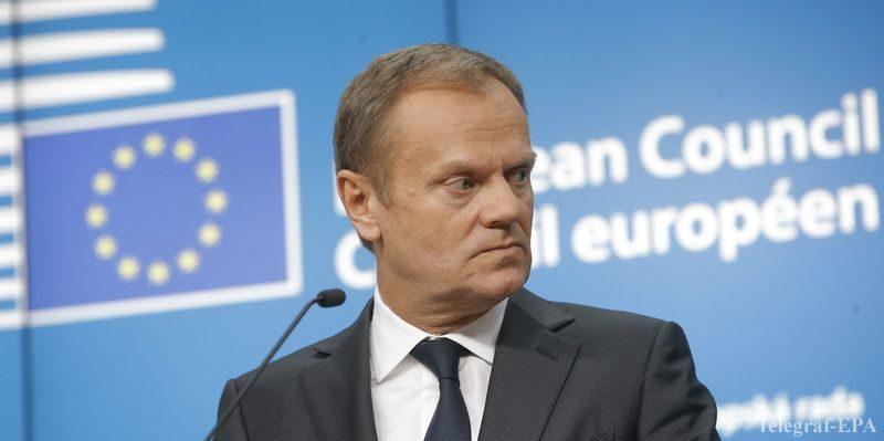 Общество: Туск уверен в конструктивной роли Великобритании в ЕС до Brexit