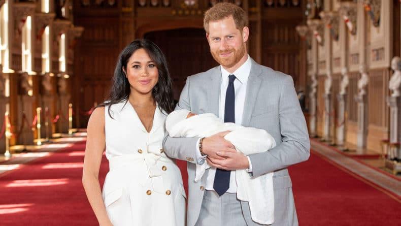 Общество: Меган Маркл назвала сына принца Гарри в честь кота, пишет Sun