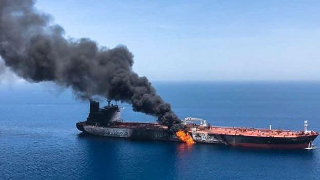 Британия и Саудовская Аравия поддерживают обвинения в адрес Ирана за нападение на танкер