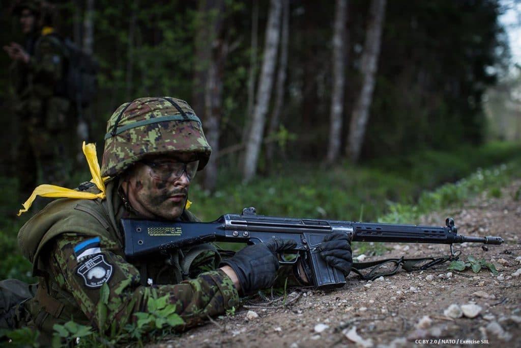 Происшествия: Британские морпехи не смогли преодолеть отпор ополченцев Эстонии